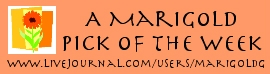 Marigold's Pick of the Week Banner